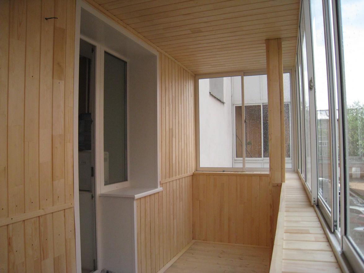 Как отделать балкон самостоятельно?.
