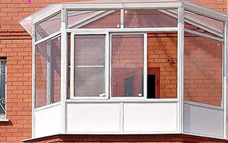 Остекление лоджий, пластиковые окна, владимир.