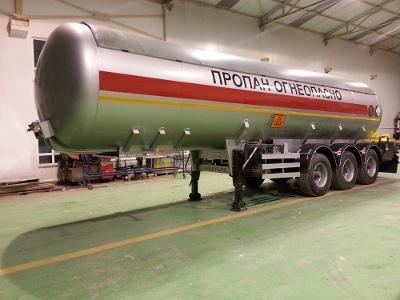 Газовоз цистерна DOGAN YILDIZ 38 м3