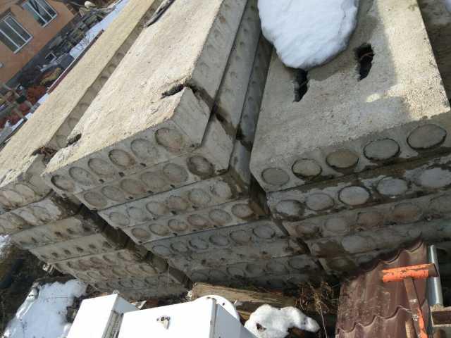 Плиты перекрытия ПК бу и новые, Москва, МО
